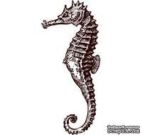 Акриловый штамп Stamp Hhippocampus Морской конек, размер 1,7 * 3,8