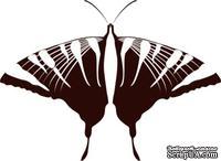 Акриловый штамп Butterfly 7 Бабочка, размер 5.4 * 3.9 см
