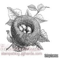 Акриловый штамп FA032 Гнездо, размер 5,4 * 5,2 см
