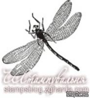 Акриловый штамп FA037 Стрекоза, размер 3,3 * 2,7 см