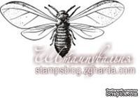 Акриловый штамп FA040 Муха, размер 4,4 * 1,8 см