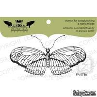 Акриловый штамп Lesia Zgharda FA078b Бабочка большая