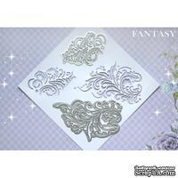 Набор фоновых ножей от Fantasy - Золотая хохлома, 2 шт
