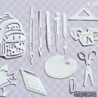 Нож для вырубки от Fantasy - Школьный набор, 17 шт