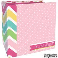 Заготовка для альбома от Paper House - Флипбук - Baby Girl