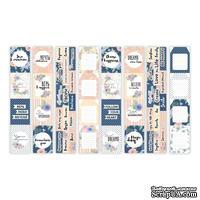 Набор полос с карточками и тегами для декорирования Flower mood, ТМ Фабрика Декора