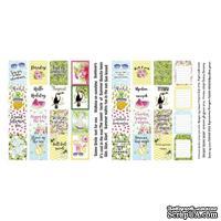 Набор полос с карточками и тегами для декорирования Tropical paradise, ТМ Фабрика Декора