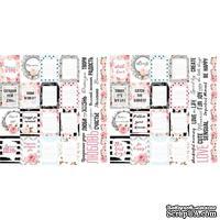Набор полос с карточками и тегами для декорирования Sensual Love, ТМ Фабрика Декора