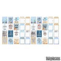 Набор полос с карточками и тегами для декорирования Sea Breeze, ТМ Фабрика Декора
