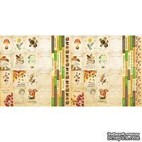 Набор полос с карточками и тегами для декорирования Botany autumn, ТМ Фабрика Декора