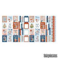 Набор полос с карточками для декорирования Winter in the city, ТМ Фабрика Декора