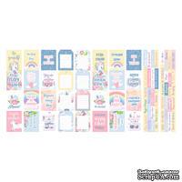 Набор полос с карточками для декорирования Believe in miracle, ТМ Фабрика Декора