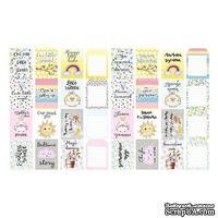 Набор полос с картинками для декорирования My tiny sparrow girl, ТМ Фабрика Декора