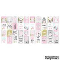 Набор полос с картинками для декорирования Scandi Baby Girl, ТМ Фабрика Декору