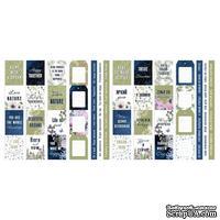 Набор полос с картинками для декорирования Night garden, ТМ Фабрика Декора