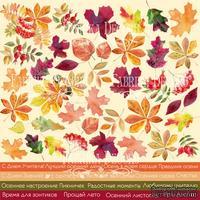 Лист с картинками для вырезания Autumn- RUS, ТМ Фабрика Декору