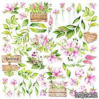 Лист для вырезания Spring blossom, ТМ Фабрика Декору