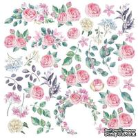 Лист с картинками для вырезания Mysterious garden, ТМ Фабрика Декору