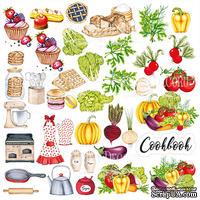 Лист с картинками для вырезания Soul Kitchen, ТМ Фабрика Декора