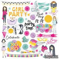 Лист для вырезания Party Girl, ТМ Фабрика Декору