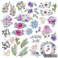 Лист с картинками для вырезания Night garden, ТМ Фабрика Декора