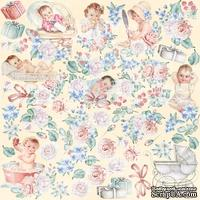 Лист с картинками для вырезания Shabby baby girl redesign, ТМ Фабрика Декора