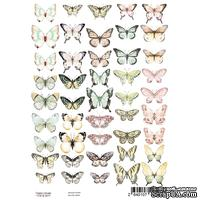 Набор картинок для декорирования Бабочки А4, ТМ Фабрика Декору