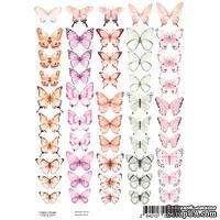 Набор картинок для декорирования Бабочки 3 А4, ТМ Фабрика Декору
