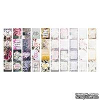 Набор полос с картинками для декорирования Flowers, ТМ Фабрика Декору