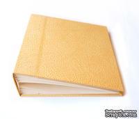 Заготовка для фотоальбома Фабрика Декора - Золотая кожа, 20х20 см