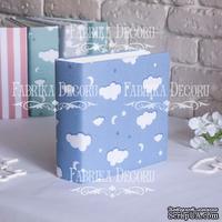 Заготовка альбома в мягкой обложке Голубые облака, TM Fabrika Decoru
