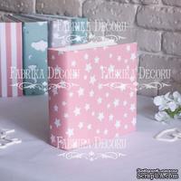 Заготовка альбома в мягкой обложке Розовые звезды, TM Fabrika Decoru