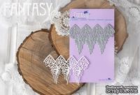 Нож для вырубки Fantasy «Кружево дранка М» размер: 9,3*6 см - ScrapUA.com