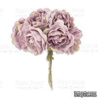 Букет пионов, винтажно-розовый, ТМ Фабрика Декора