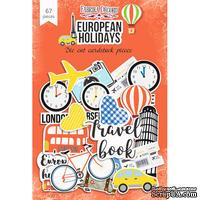 Набор высечек, коллекция European holidays, 67шт, ТМ Фабрика Декору