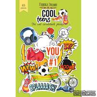 Набор высечек, коллекция Cool Teens, 65шт, ТМ Фабрика Декору