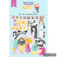 Набор высечек, коллекция Party girl, 61шт, ТМ Фабрика Декору
