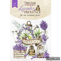 Набор высечек, коллекция Lavender provence, 54шт, ТМ Фабрика Декору