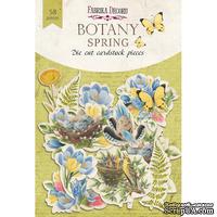 Набор высечек, коллекция Spring Botany, 58шт, ТМ Фабрика Декору - ScrapUA.com