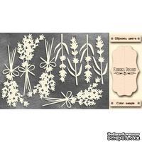 Набор чипбордов TM Fabrika Decoru Lavender Provence 2, FDCH-285, цвет молочный