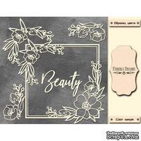 Мегачипборд Beauty 30x30 см #003, ТМ Фабрика Декора