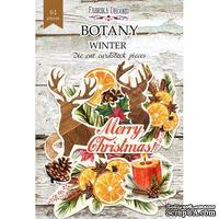 Набор высечек, коллекция Botany winter, 61 шт., ТМ Фабрика Декора