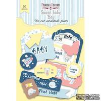 Набор высечек Sweet baby boy-1, ТМ Фабрика Декора