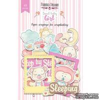 Высечки, коллекция Sweet baby girl, 49 штук, ТМ Фабрика Декора