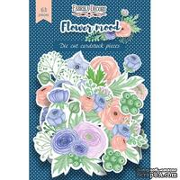 Набор высечек, коллекция Flower mood, 60 шт., ТМ Фабрика Декора - ScrapUA.com