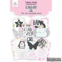 Набор высечек, коллекция Scandi Baby Girl, ТМ Фабрика Декору