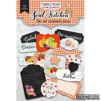 Набор высечек, коллекция Soul Kitchen, ТМ Фабрика Декору - ScrapUA.com