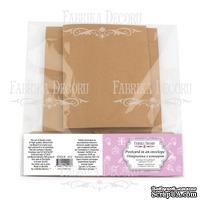 Открытка в конверте, цвет крафт, ТМ Фабрика Декора