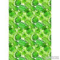 Оверлей Green wild tropics 21х29,7 см, ТМ Фабрика Декора