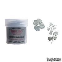 Пудра для эмбоссинга Фабрика Декора - Винтажное серебро